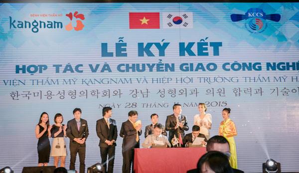 Thẩm mỹ viện Kangnam có sự hợp tác chặt chẽ với các bác sĩ hàng đầu Hàn Quốc