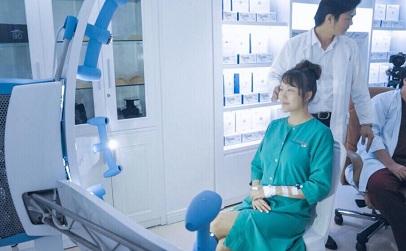 Bệnh viện thẩm mỹ Kangnam trang thiết bị hiện đại máy Vectra 3D1