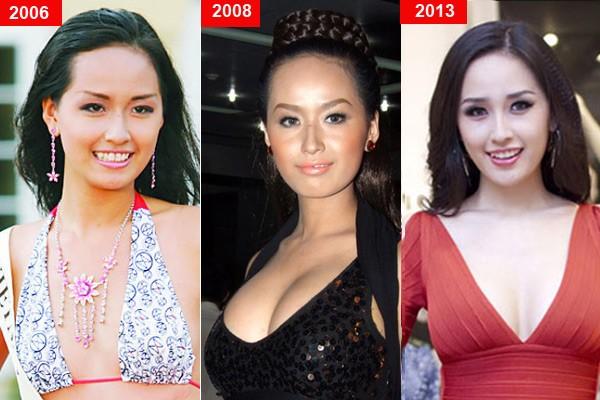 Những người đẹp sexy hơn nhờ công nghệ thẩm mỹ nâng ngực.