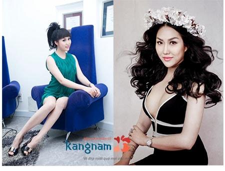 Phi Thanh Vân nâng ngực tại Kangnam 8
