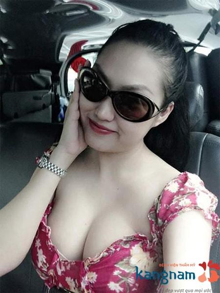 Phi Thanh Vân nâng ngực tại Kangnam 10