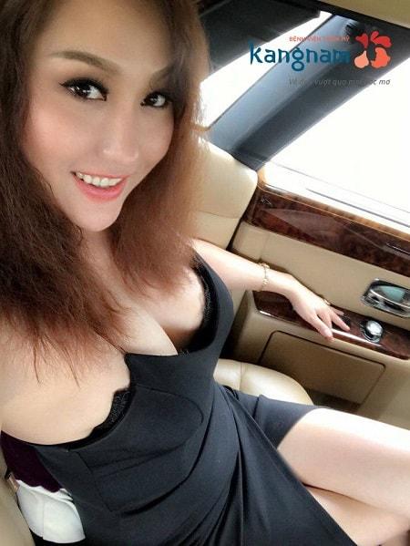 Phi Thanh Vân nâng ngực tại Kangnam 11